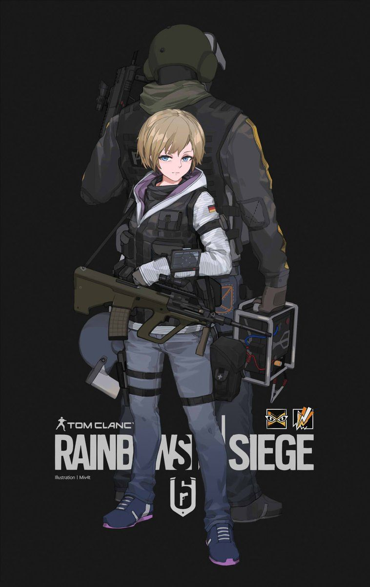 4) Twitter | Advit gamer/Fandom | Rainbow, Rainbow six siege