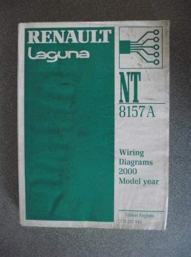 Renault Laguna Wiring Diagrams Manual 2000 Nt8157a