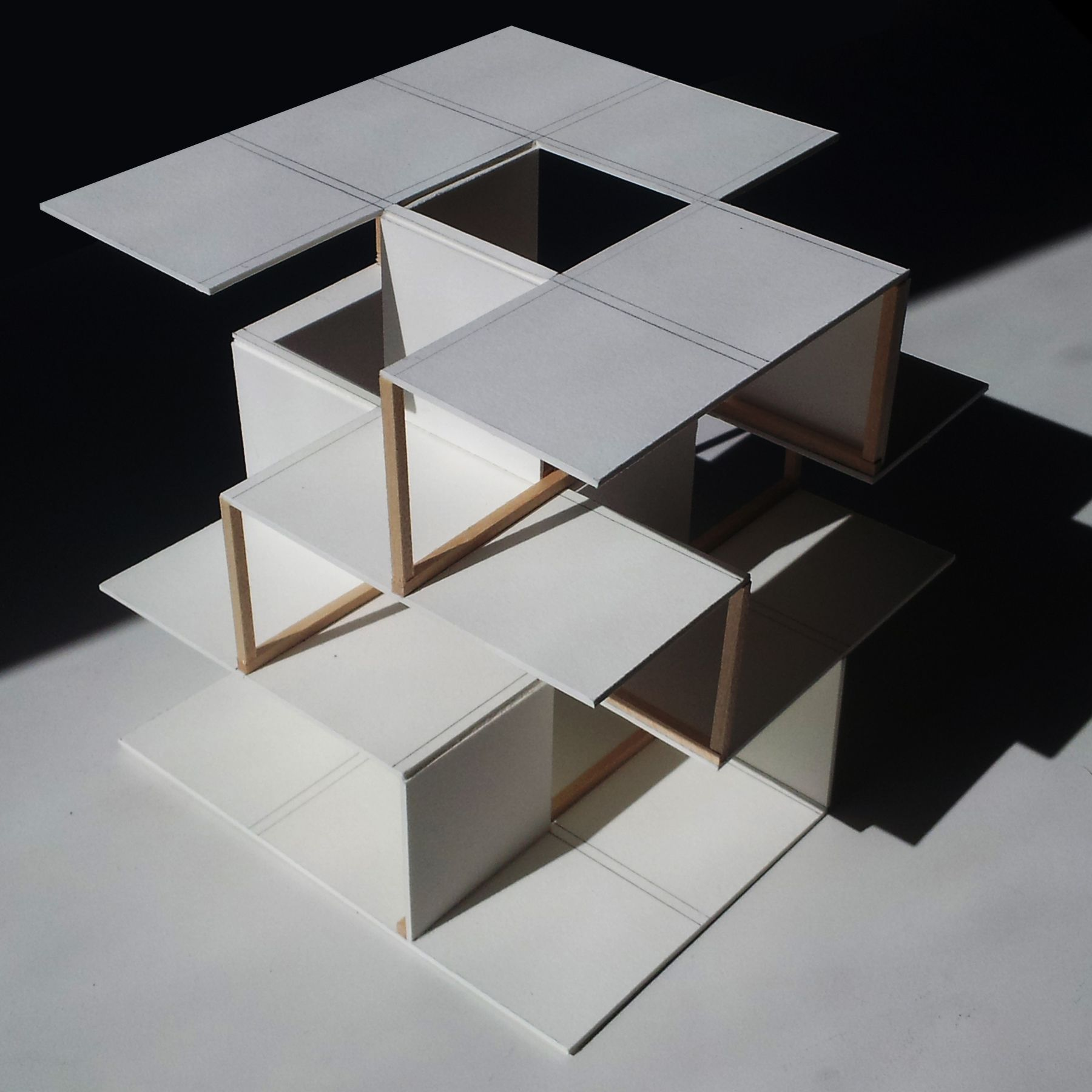Tabak Travis 1 Studio Miller And Munly Concept Models Architecture Concept Architecture Architecture Model