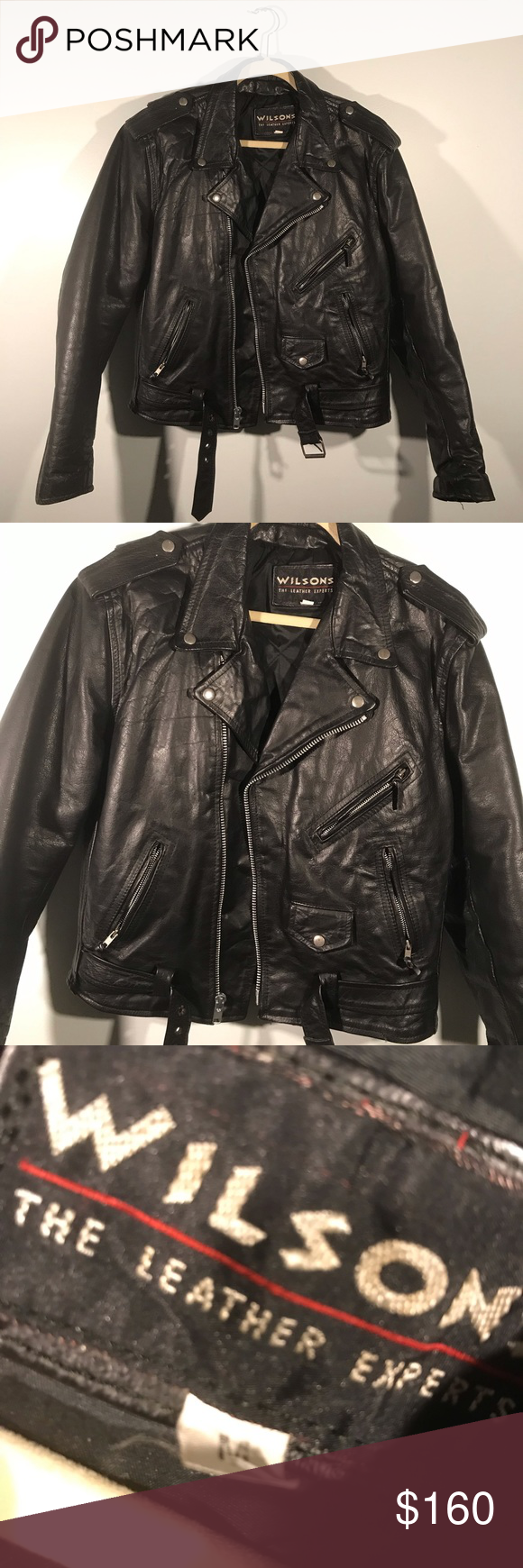Men's Genuine Leather Vintage Moro Jacket Vintage