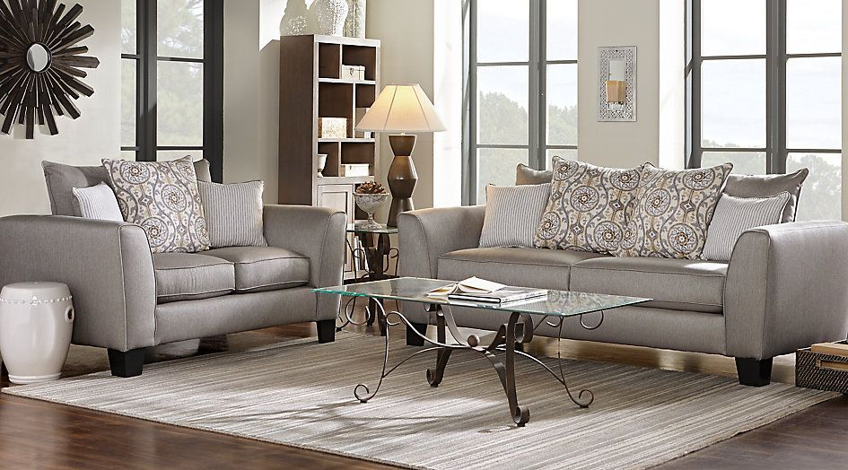 Bridgeport Taupe 5 Pc Living Room From Furniture Living Room Sets Furniture Classic Living Room Living Room Table Sets #taupe #couch #living #room