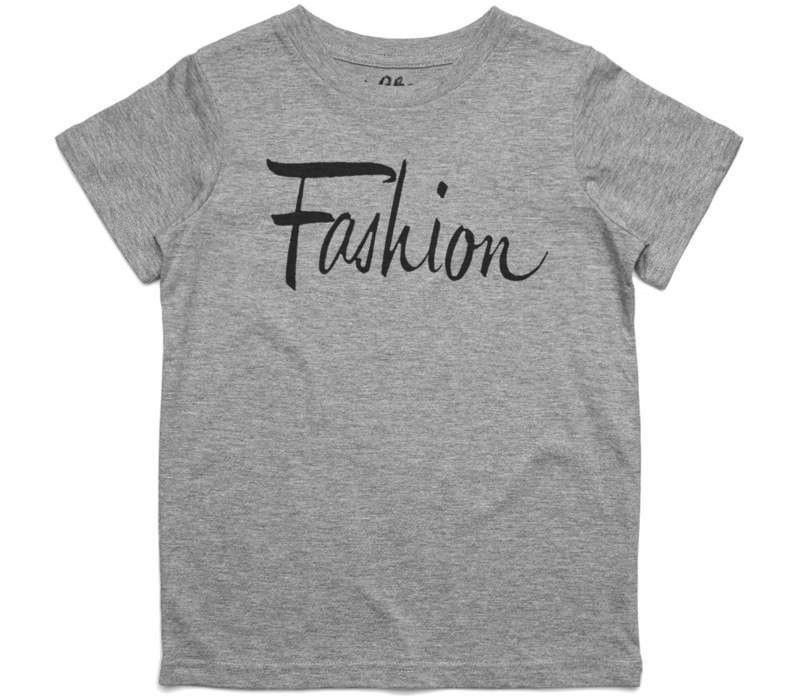 El Cheapo Fashion 2 (Black) Youth Grey Marle T-Shirt