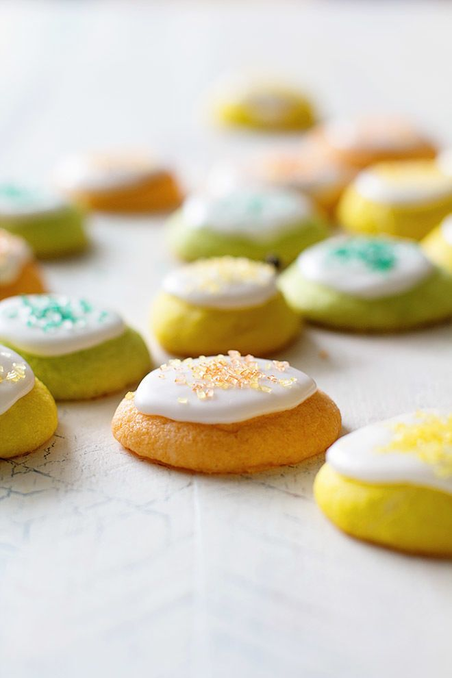 Colorful Citrus Cookies : Citrus Cookies