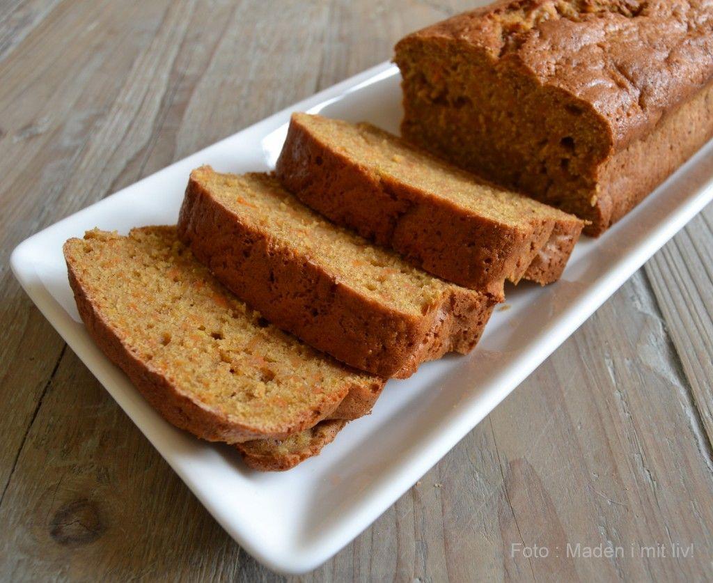 Gulerodskage (fedtfattig) | Recipe (With images) | Brownie ...