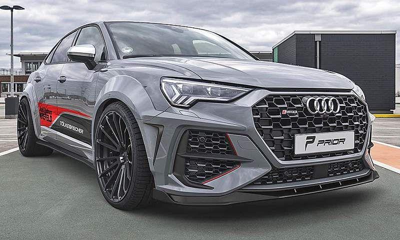 Audi Rs Q3 Sportback Tuning Von Prior Design Autozeitung De In 2020 Audi Rs Audi Rs Q3 Audi