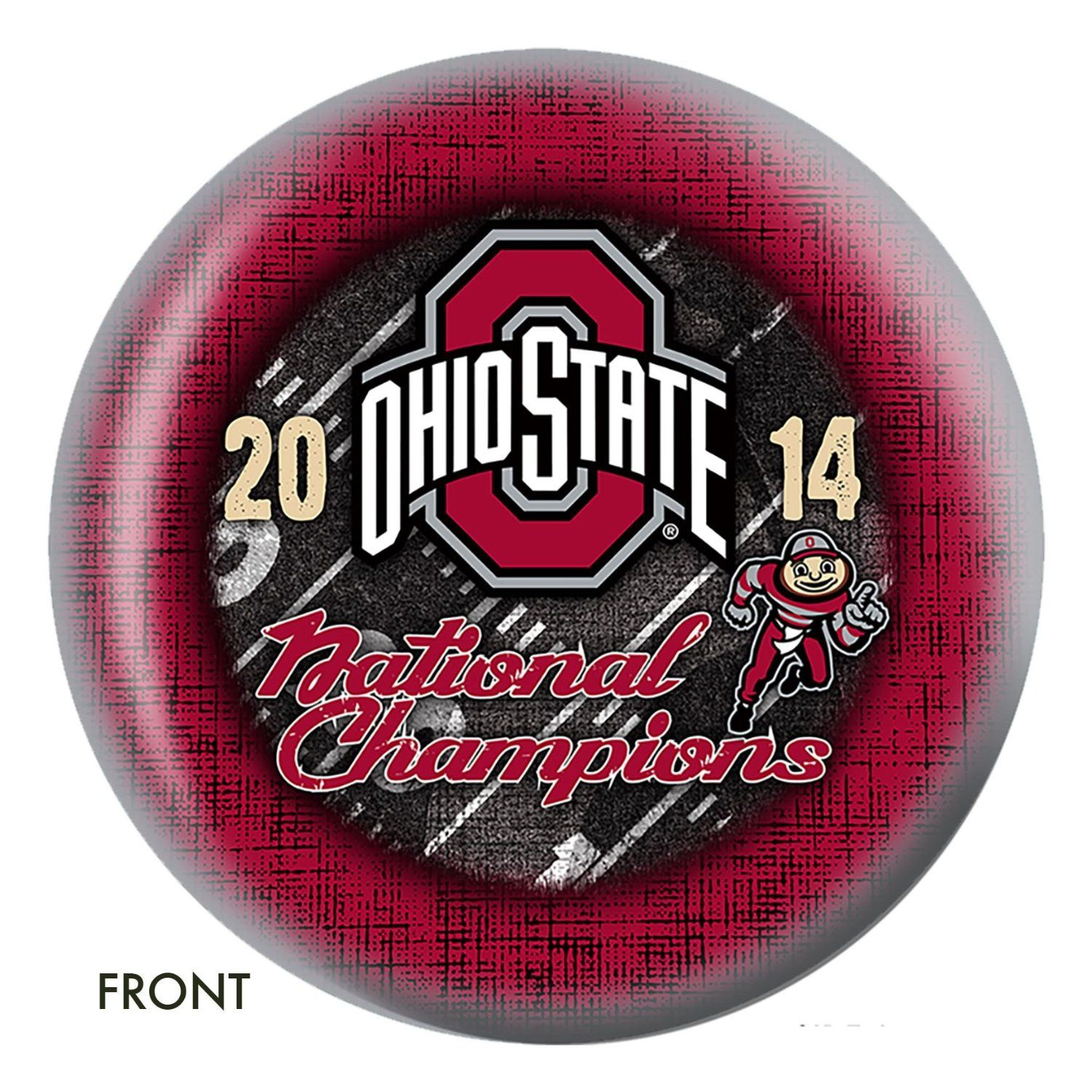 The Ohio State University 2014 National Championship Bowling Ball Click On Image Ohio State The Ohio State University Ohio State University