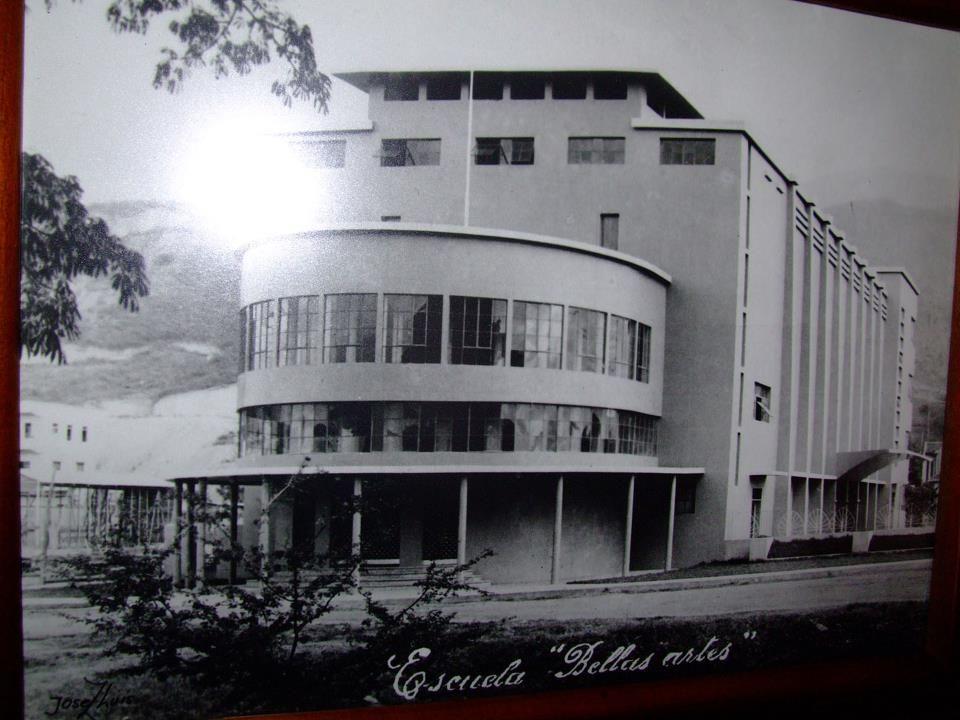 Escuela de Bellas Artes. Kimmel ChamatFOTOS ANTIGUAS SANTIAGO DE CALI
