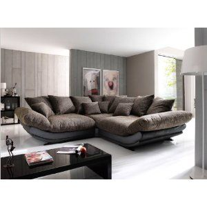 big sofa rose, mega-sofa von new look: amazon.de: küche & haushalt