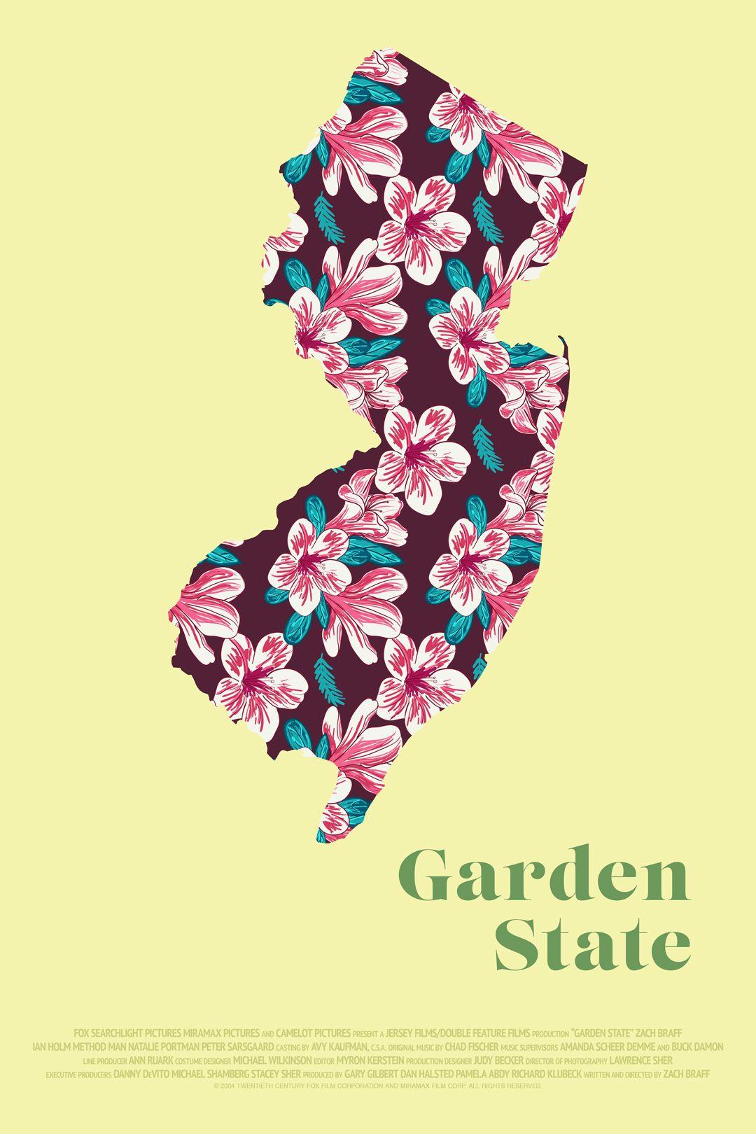 Garden State Alternative Movie Posters Keys Art Poster Design