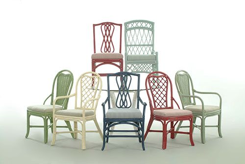 17 best images about wicker and rattan by braxton culler on   morocco chairs and desks. Wicker Dining Chair  Built In Banquette With Wicker Dining Chairs