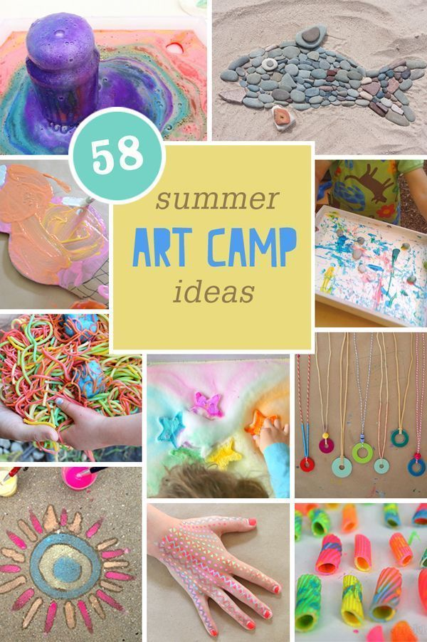 Summer Arts And Crafts Ideas For Kids Part - 22: The Best Summer Art Camp Ideas For Kids