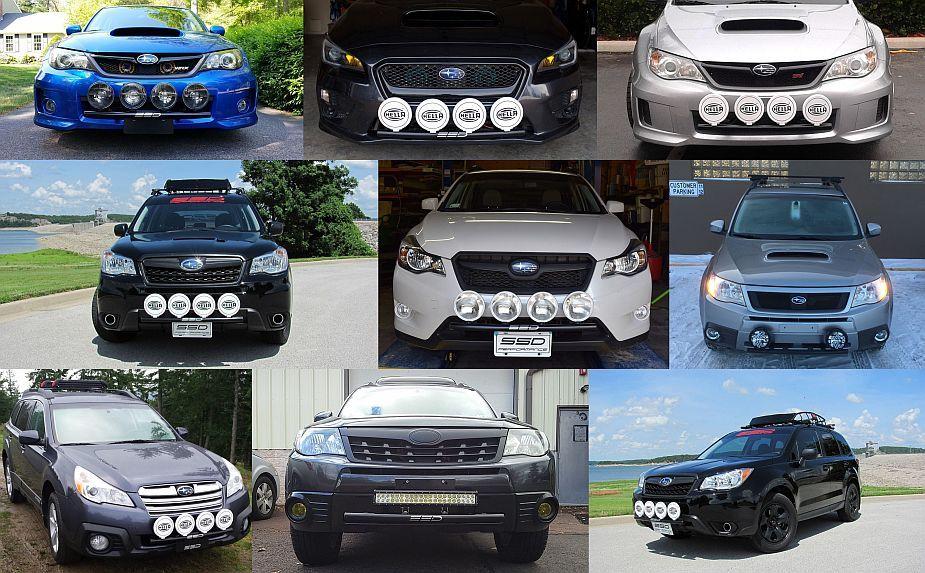 SSD Performance Rally Light Bar | Subaru Crosstrek ...