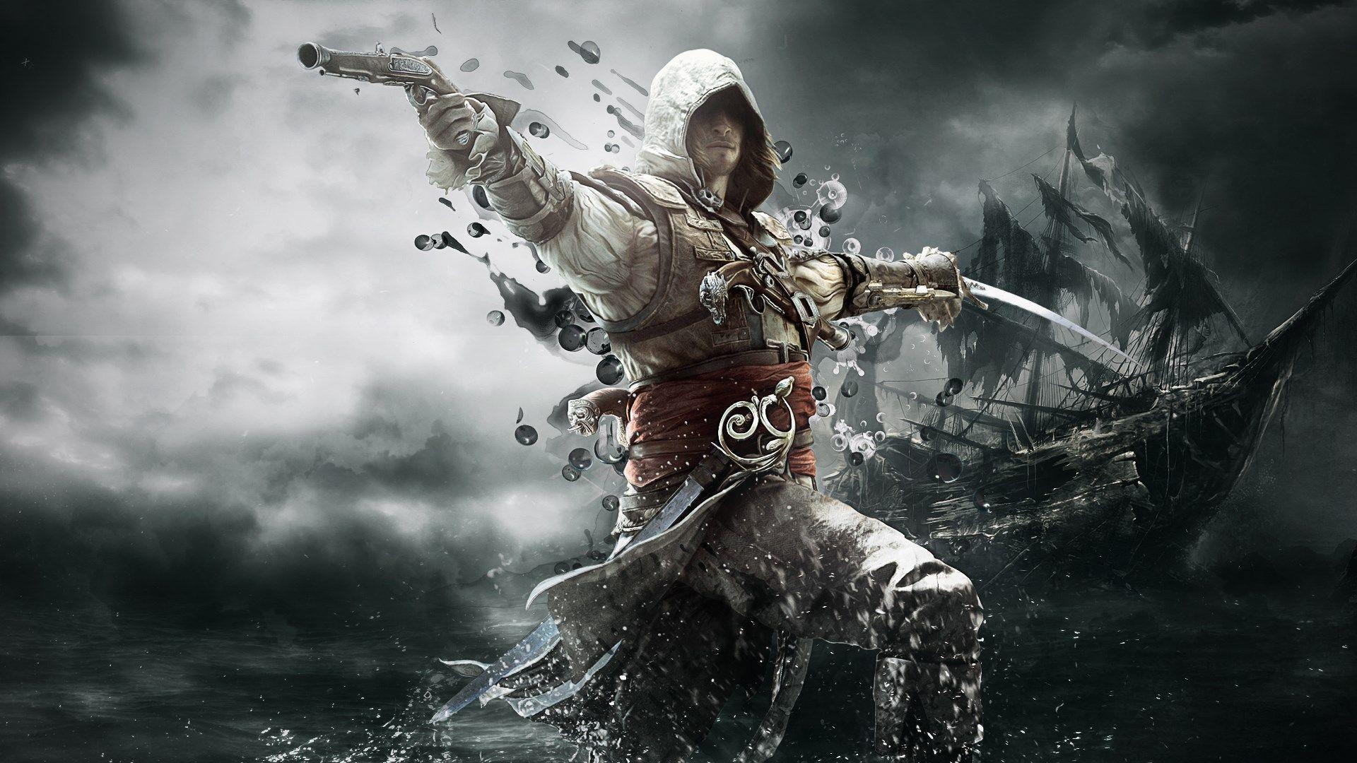 City Wallpaper Full Hd 1920x1080 Free Wallpaper Full Hd 1080p Assassin S Creed Black Assassins Creed Black Flag Assassins Creed
