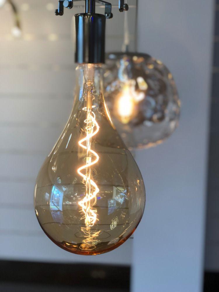 Ampoule Torsadé Led En 2019 Filament E27 H30cm À Géante Yyb6gf7