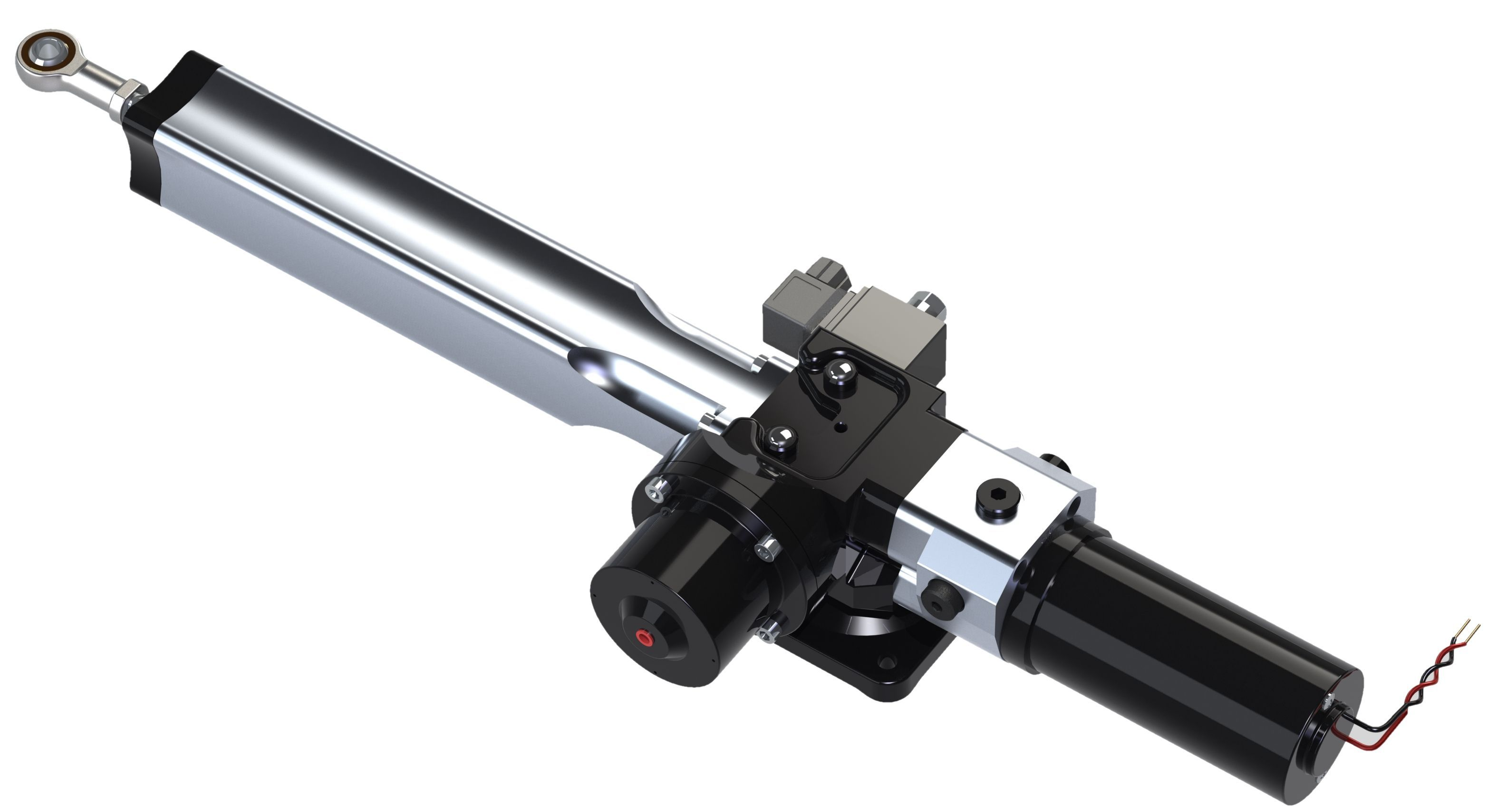 Hy-ProDrive ML+40 Hydraulic linear actuator | Swiftsure ...