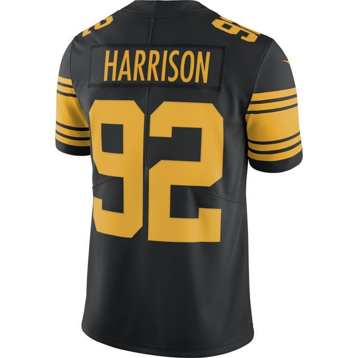official photos 0dcad dc7a0 Pittsburgh Steelers Nike #92 James Harrison Limited Color ...