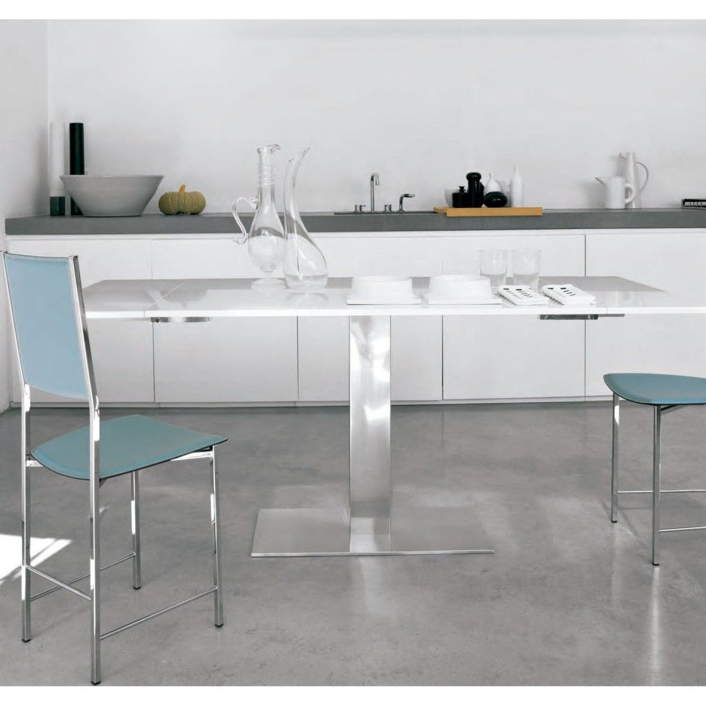 Delumu - Cocinas modernas - mesa metal | Ideas para el hogar ...