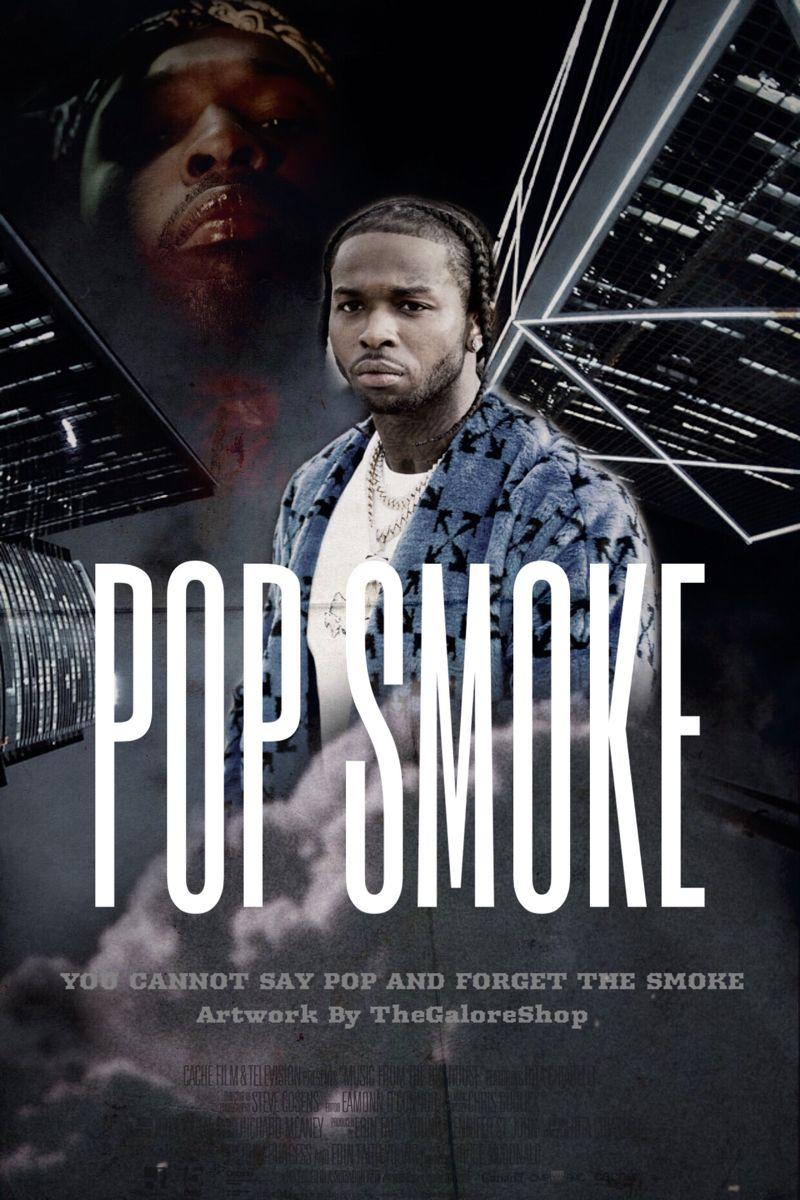 pop smoke poster by boujeebrat pop
