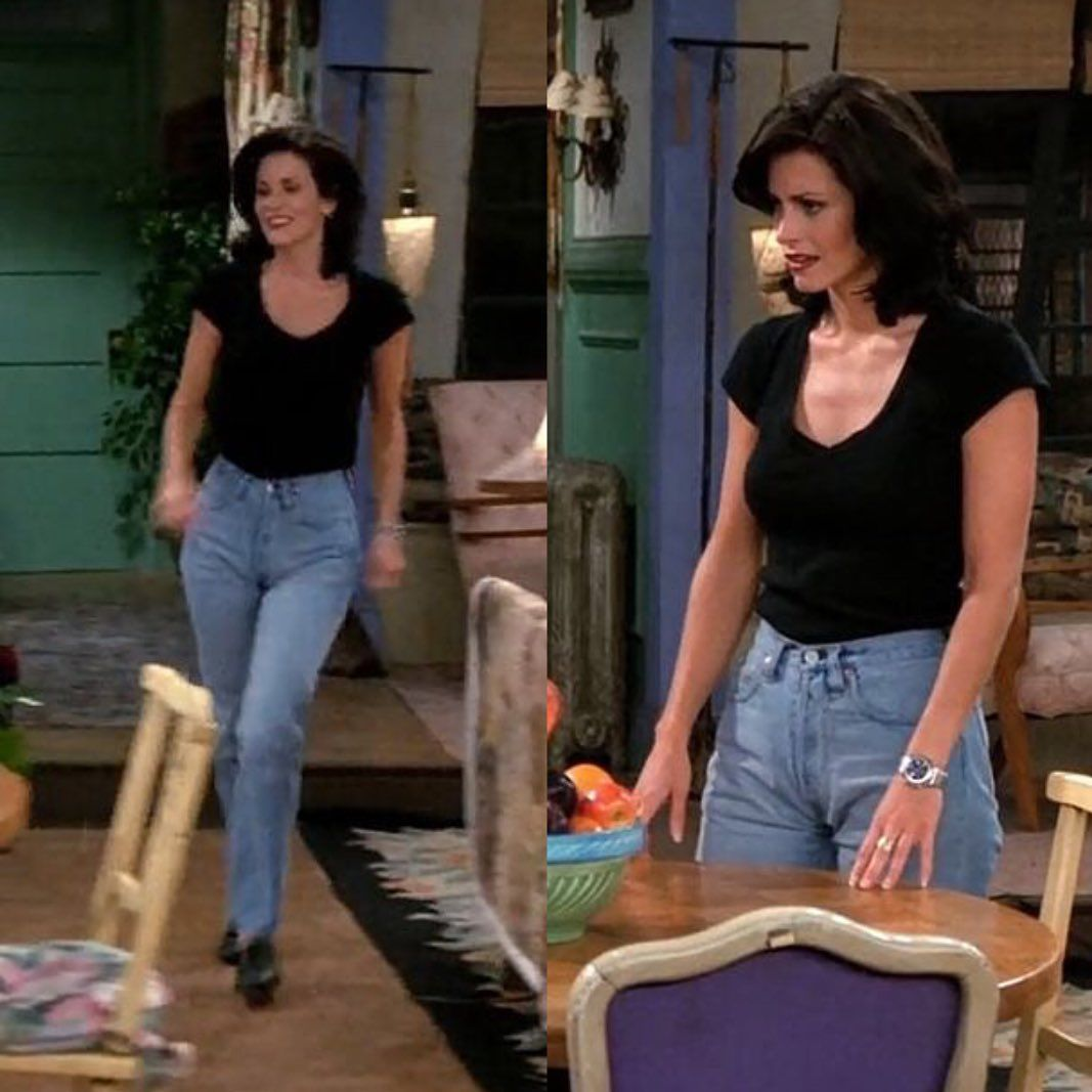 Monica Geller's Most Iconic Outfits #rachelgreenoutfits