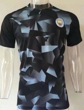 1705312a6 Manchester City FC 2017-18 Season MCFC Yellow Black Training Shirt [K173]