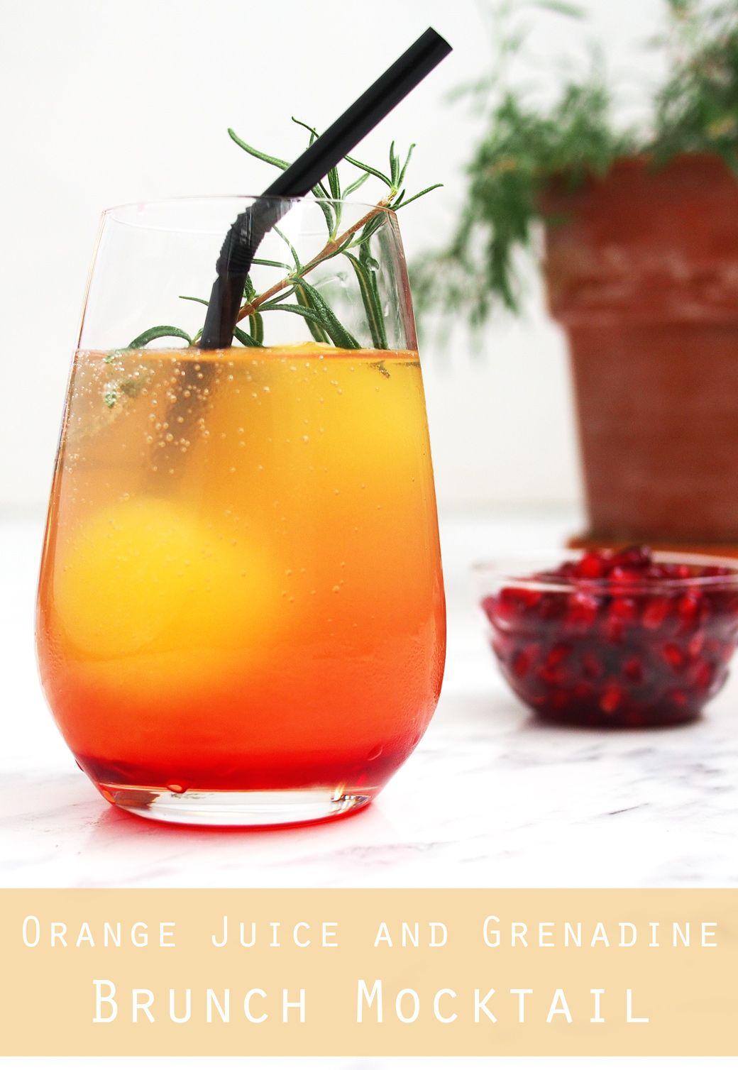 Orange Juice Mocktail Easy Recipe Fun Party Idea The Worktop Recipe Easy Mocktail Recipes Mocktail Recipe Mocktails
