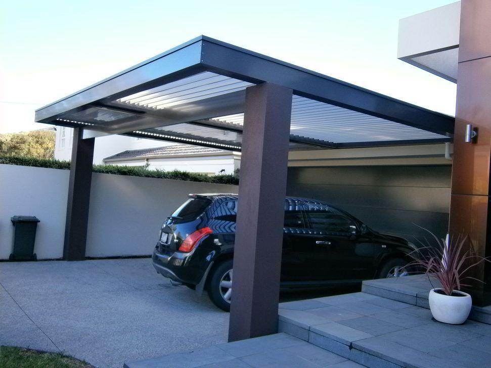20+ Simple And Minimalist Garage Design Ideas Carport