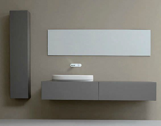 Tourdissant miroir salle de bain design rectangulaire for Salle de bain rectangulaire