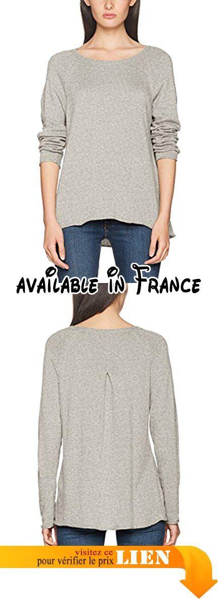 B071VNCL2K   Herrlicher Akaya Wool Pull Femme Grau (Light Grey Melange 443)  Small. 4eaf774a843