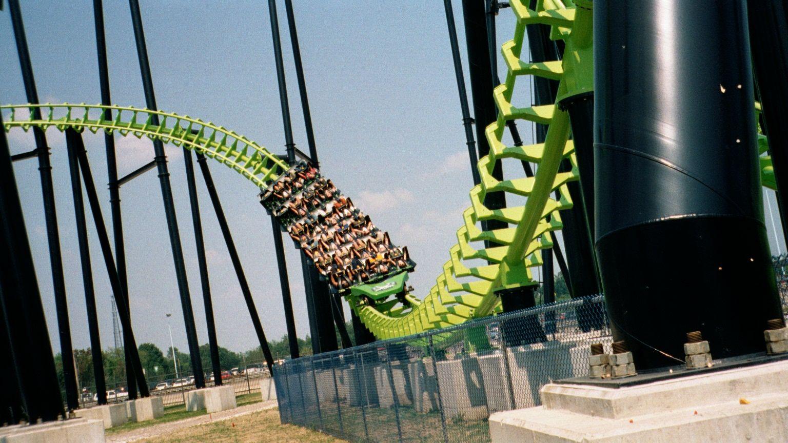 X Flight At The Defunct Six Flags Worlds Of Wonder Aka Geauga Lake Roller Coaster Lake Northeast Ohio