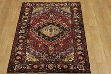 Excellent Foyer Size Red 4x7 Gholtogh Zanjan Persian Oriental Rug 7' 4'' x 4' 3