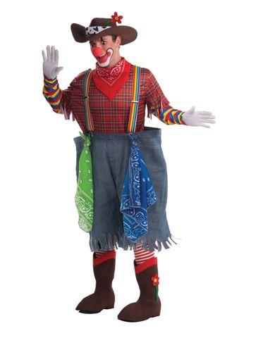 Rodeo Clown Adult Mens Costume Circus Costume Ideas
