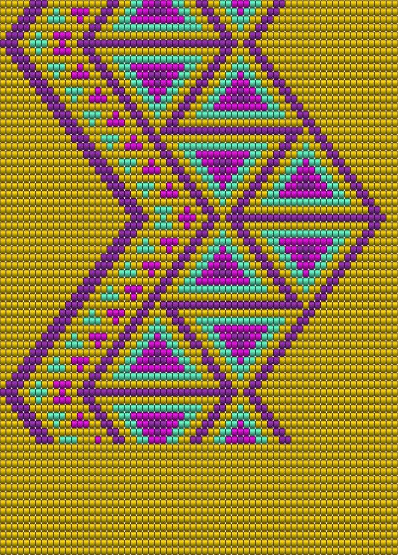 Wayuu Mochila pattern | yarn | Pinterest | Beutel, Muster und Muster ...