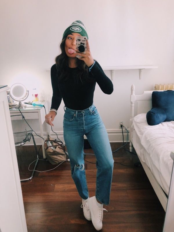 Fashion Trends for Girls and Teens – #cutewinteroutfitsforschool Those jeans! Ju…,  #cutewi…