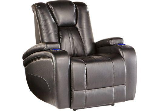 kingvale black power recliner buy it power recliners rh pinterest com