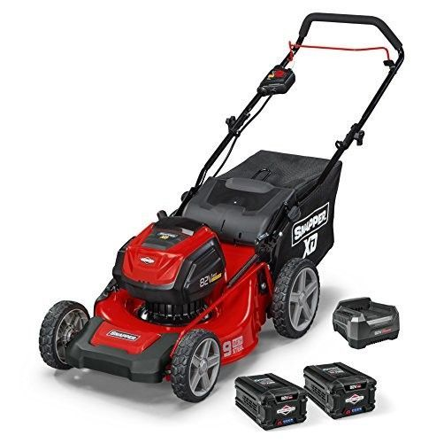 Snapper XD SXD19PWM82K 82V Cordless 19 Walk Lawnmower Kit with 2 2Ah Battery  1 Rapid Charger  Best Lawn Mowers