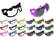 d47e247cdf49 NEW - KROOPS Horse Racing Jockey Goggles Punch Vented
