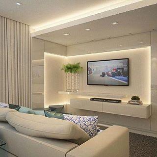 Recorte Gesso Parede   Pesquisa Google | M4 | Pinterest | Wohnzimmer,  Einrichtung Und Lichtdesign