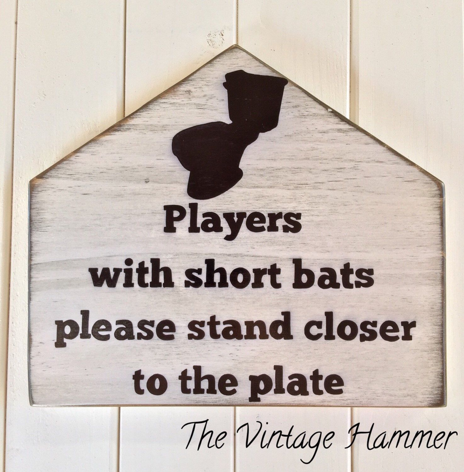 A Personal Favorite From My Etsy Shop Listing 257303394 Baseball Sign Bathroom Wood