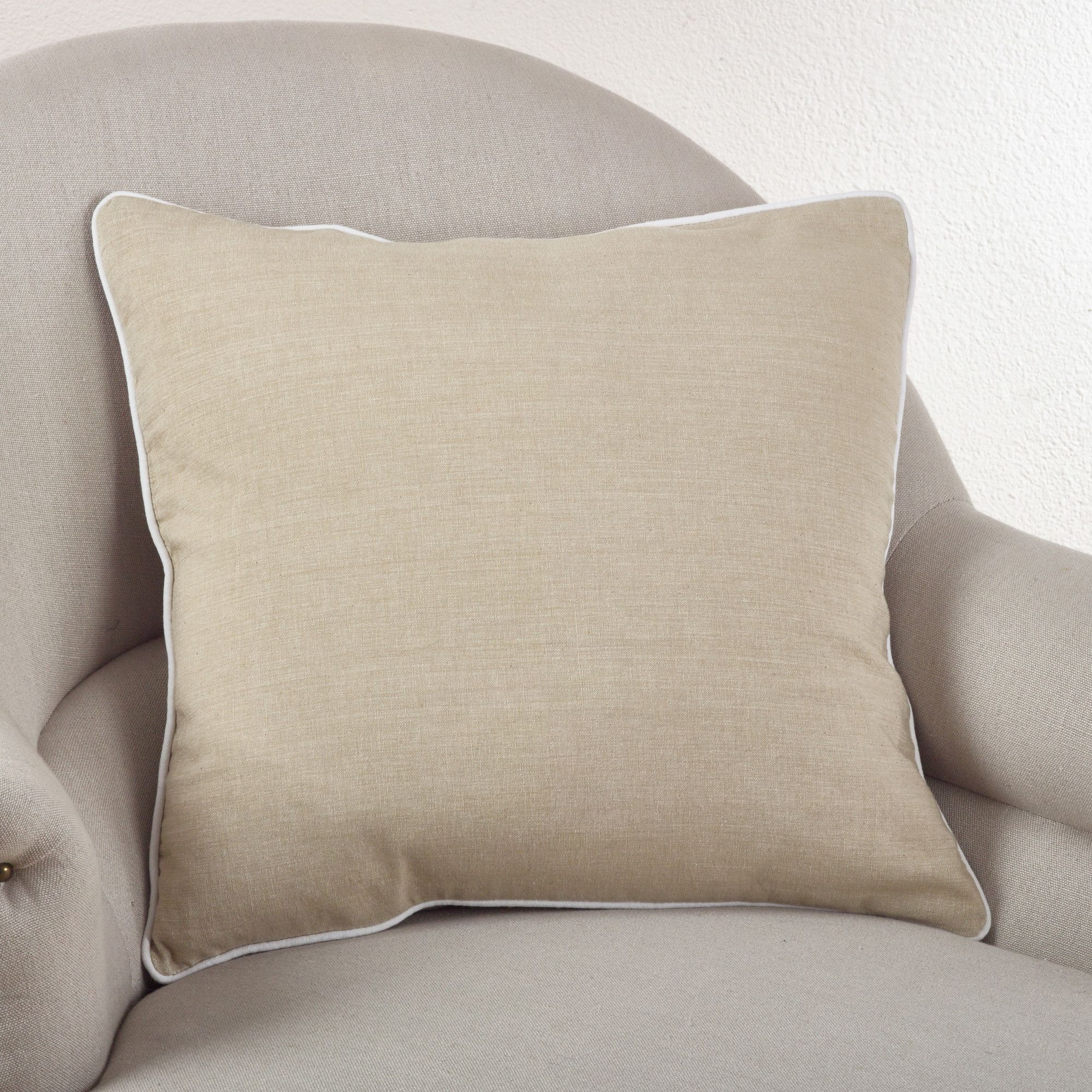 Soft Cotton Classic Cotton Throw Pillow