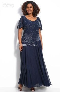 plus size long blue mother of the bride dresses - Google ...