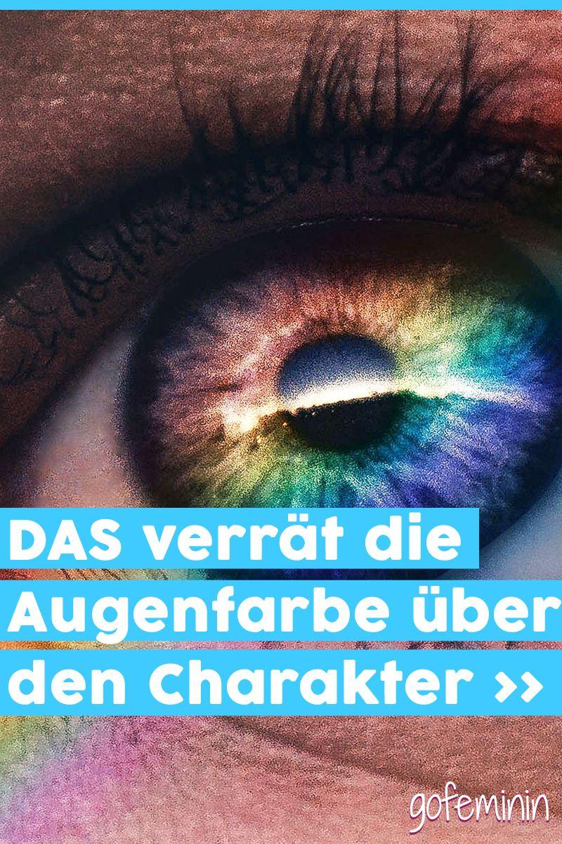 Charakter augen blau grüne Augenfarbe: Das
