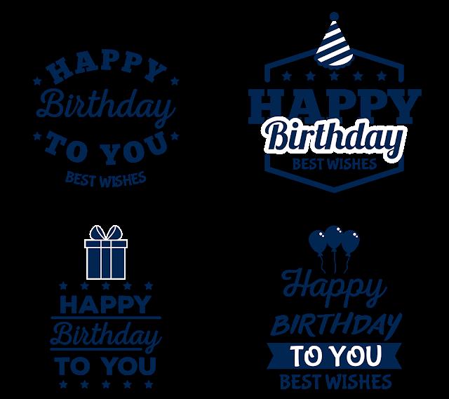 Happy Birthday Sticker Labels Birthday Stickers Sticker Labels