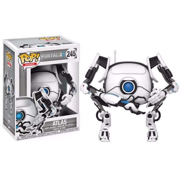 Funko POP jeux Portal-P-Body Vinyl Action Figure New /& Rapide