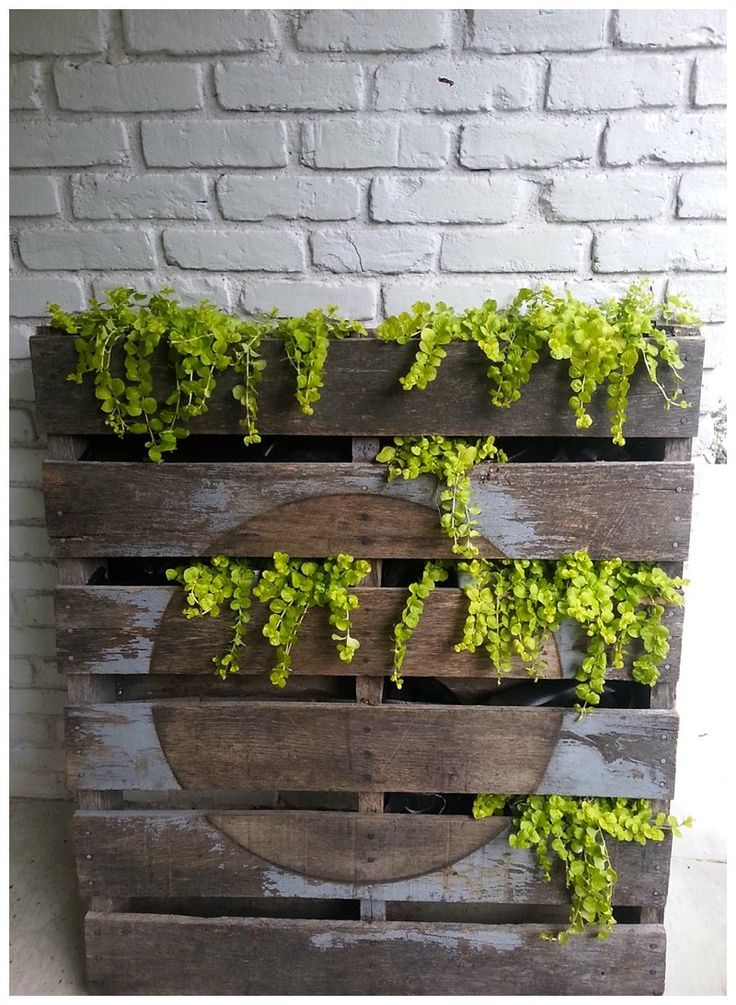 pallet planters The Garden Glove Projects to Try Pinterest