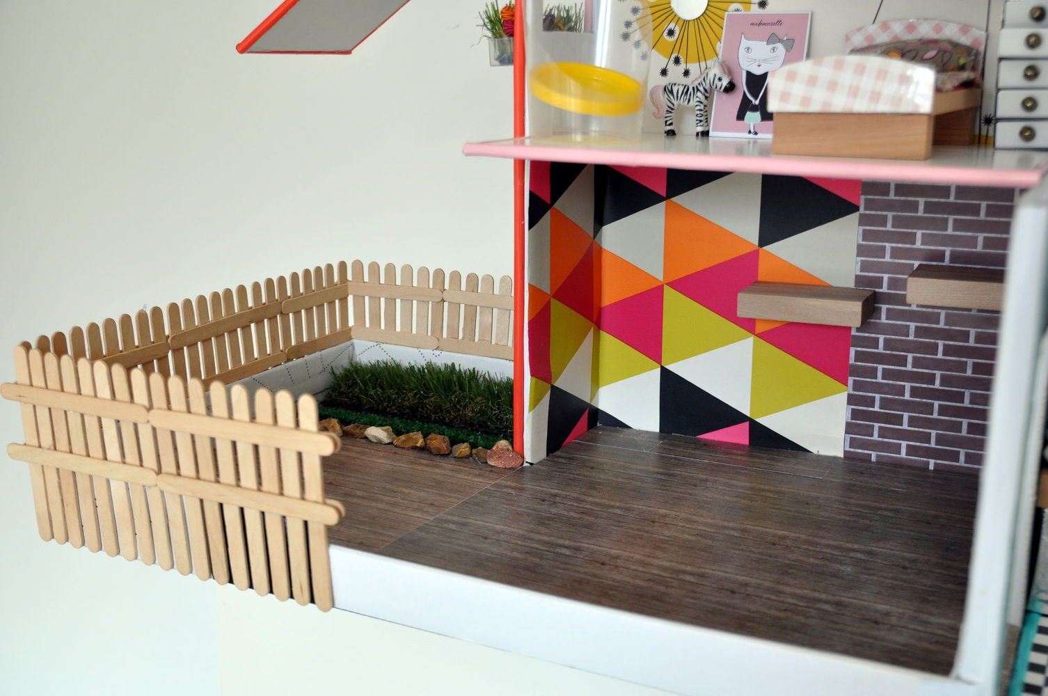 Shoe Box Dollhouse Craft For Kids: Re-Purposing & UpCycling