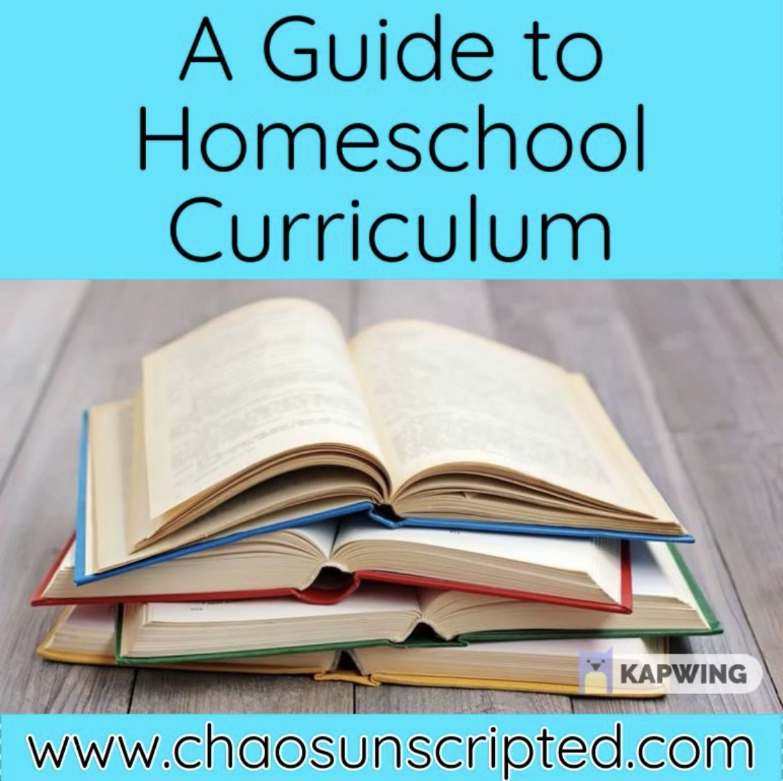 Homeschool Curriculum In