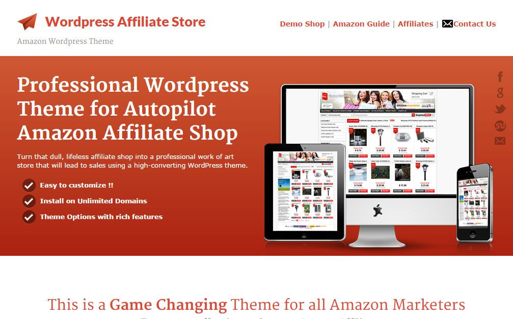 WordPress Affiliate Store is a professional WordPress theme for ...