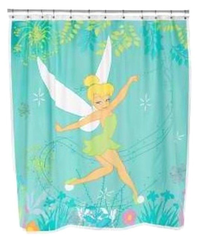 Disney Princess Shower Curtains Fabric Disney Fairies