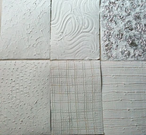 Texturing with Drywall mud!