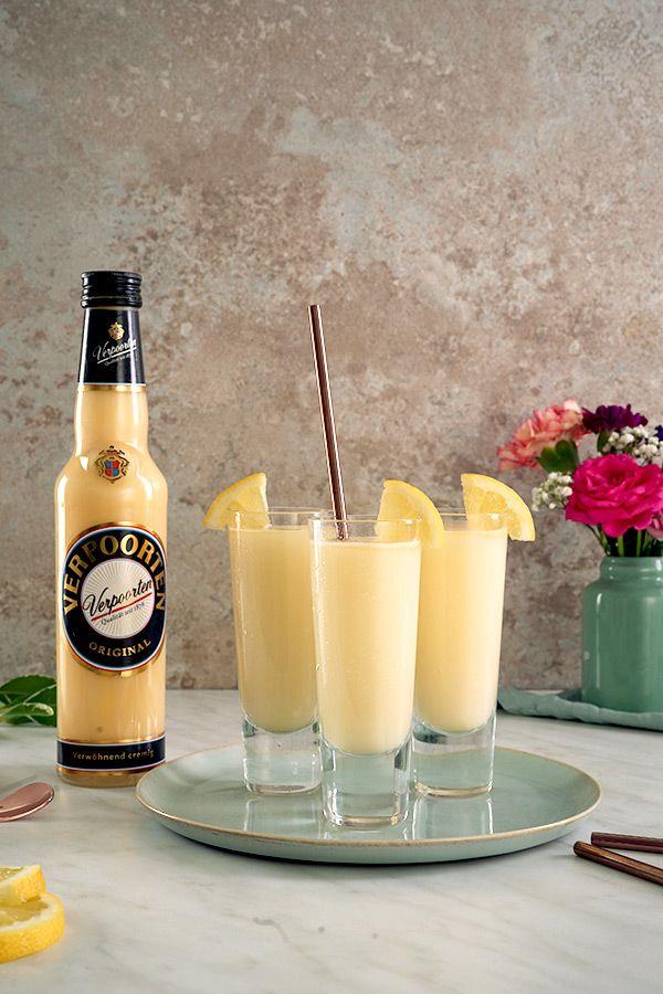 VERPOORTEN Bitter Lemon - Drinks, Cocktails und Longdrinks mit Eierlikör